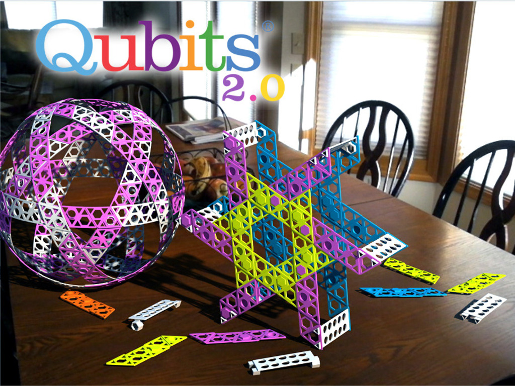 Qubits® Construction Toy's video poster