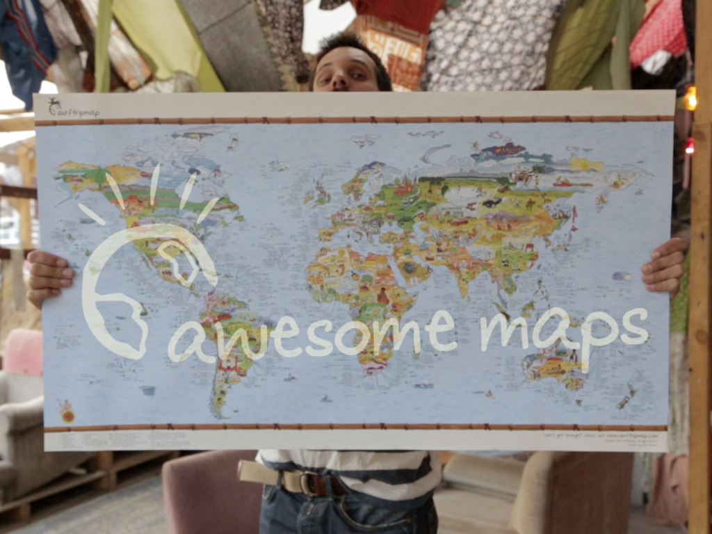 Bucketlistmap: Putting the Awesome Back in Maps's video poster