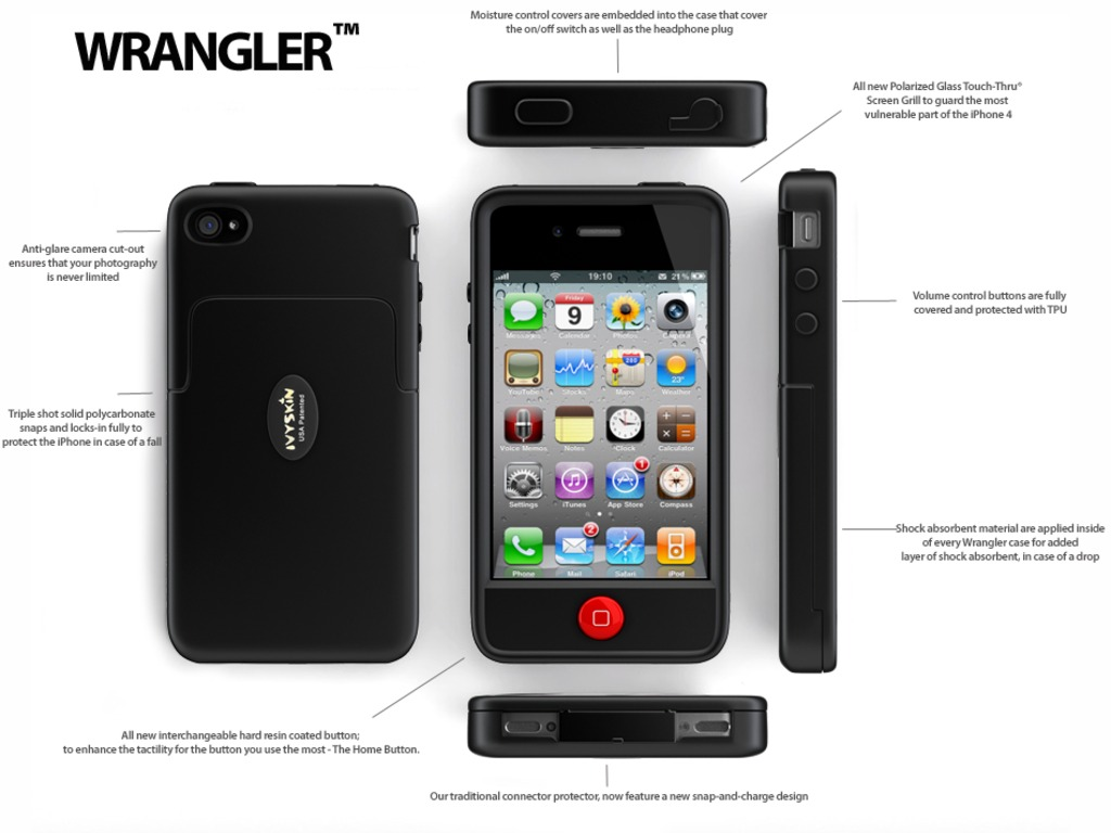 SmartCase® iPhone 4/4S Wrangler case W/ battery pack's video poster