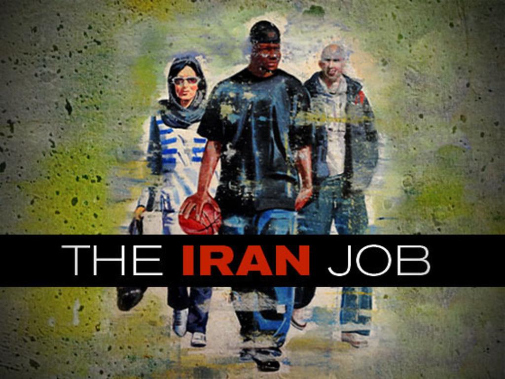 THE IRAN JOB's video poster
