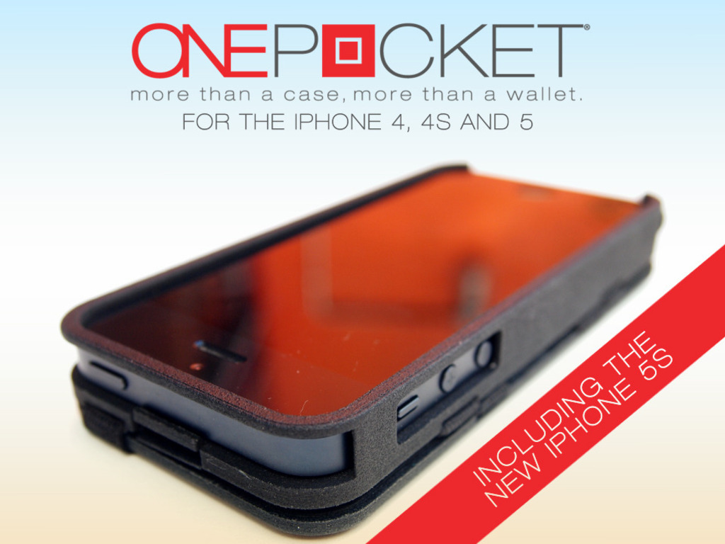 ONEPOCKET - Magic Wallet + Case for iPhone 5/5S & 4/4S.'s video poster