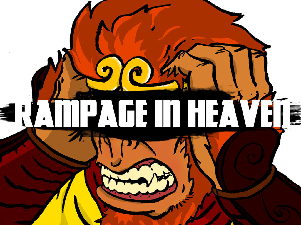 Rampage In Heaven – a post-apocalyptic short film's video poster