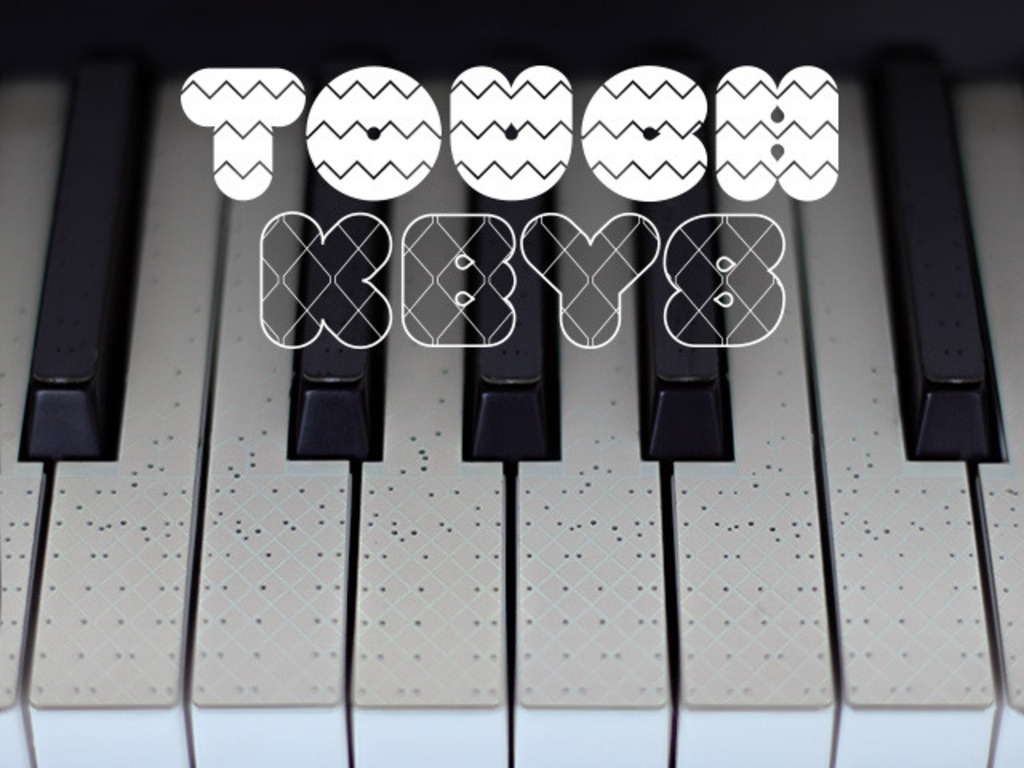 TouchKeys Multi-Touch Musical Keyboard's video poster