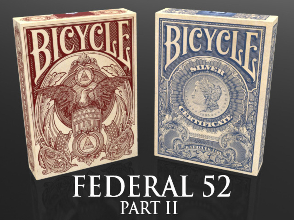 Federal 52 Part 2 -  A NEW Bicycle Playing Card Deck.'s video poster