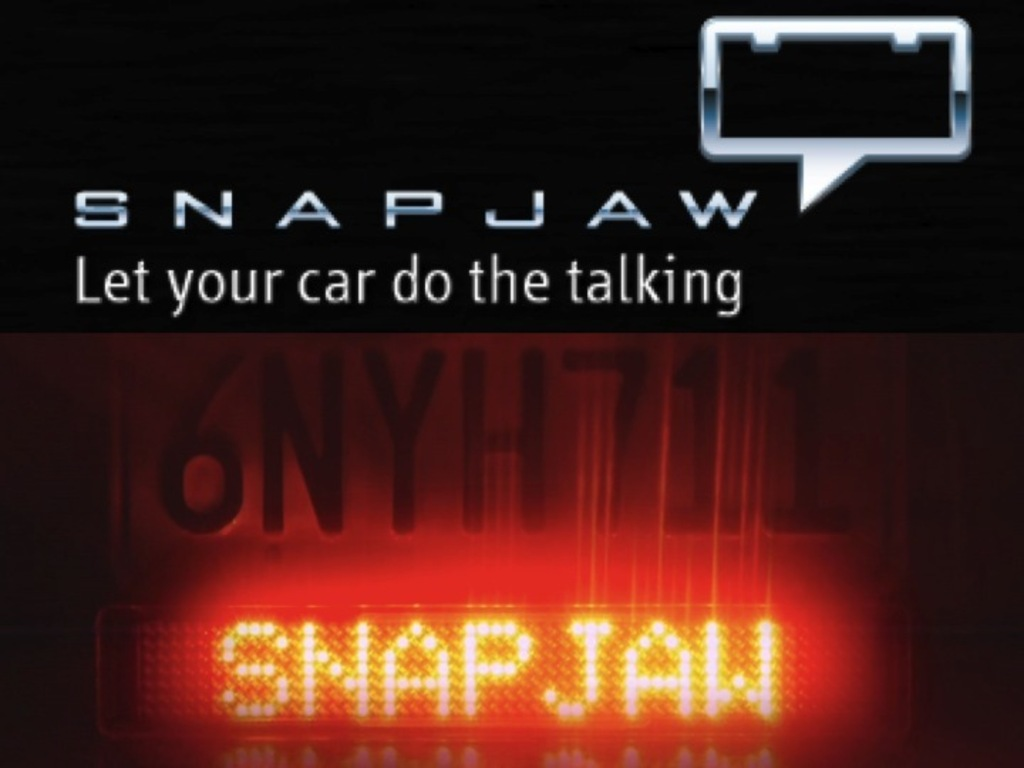 SNAPJAW: The Interactive Digital Bumper Sticker's video poster