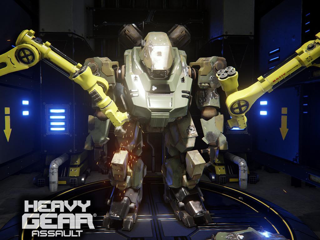 Heavy Gear Assault (Canceled)'s video poster