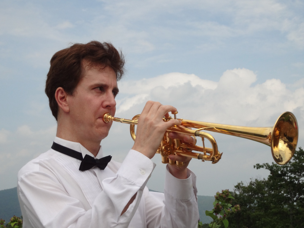 Living American Composer Roger Petrich Trumpet Concerto CD's video poster