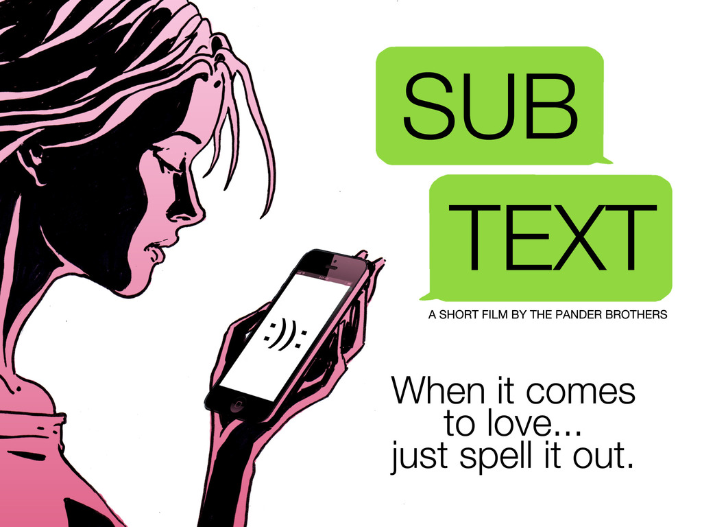 SUBTEXT's video poster