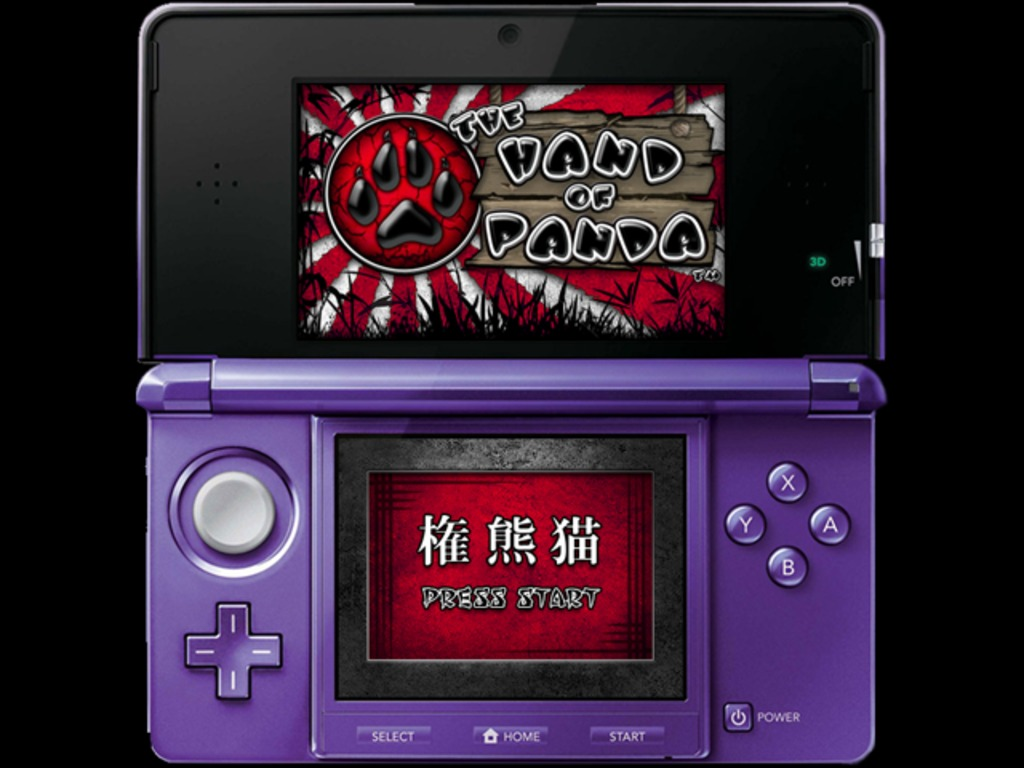 The Hand of Panda: A new game. 1st up, the Nintendo 3DS.'s video poster