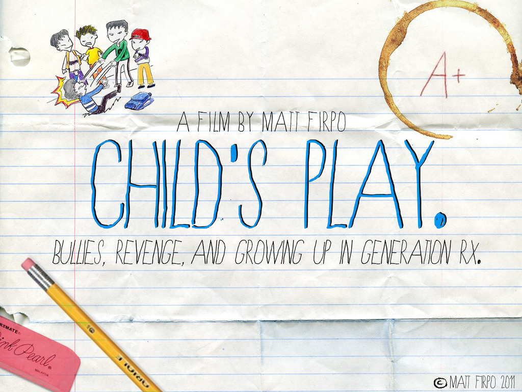 CHILD'S PLAY - An NYU Thesis Film's video poster