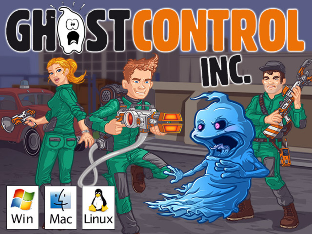 GhostControl Inc. – A hilarious ghost-hunting simulation's video poster