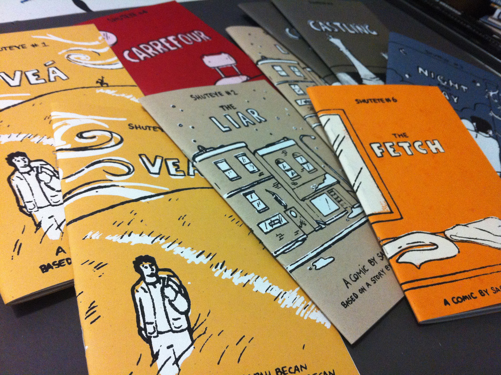 Shuteye: a Graphic Novel by Sarah Becan's video poster