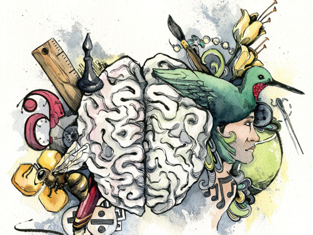 Unlocking the Right Brain: A Creative Thinking Workbook's video poster