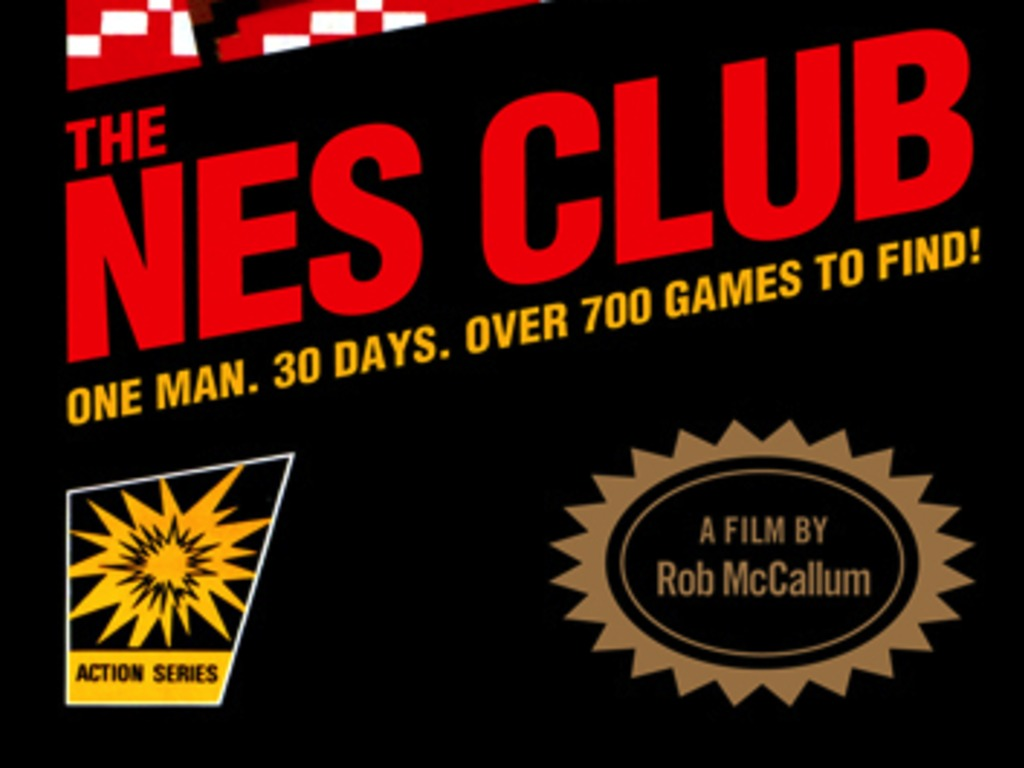 The NES Club: One Man • 30 Days • Over 700 Games To FIND!'s video poster