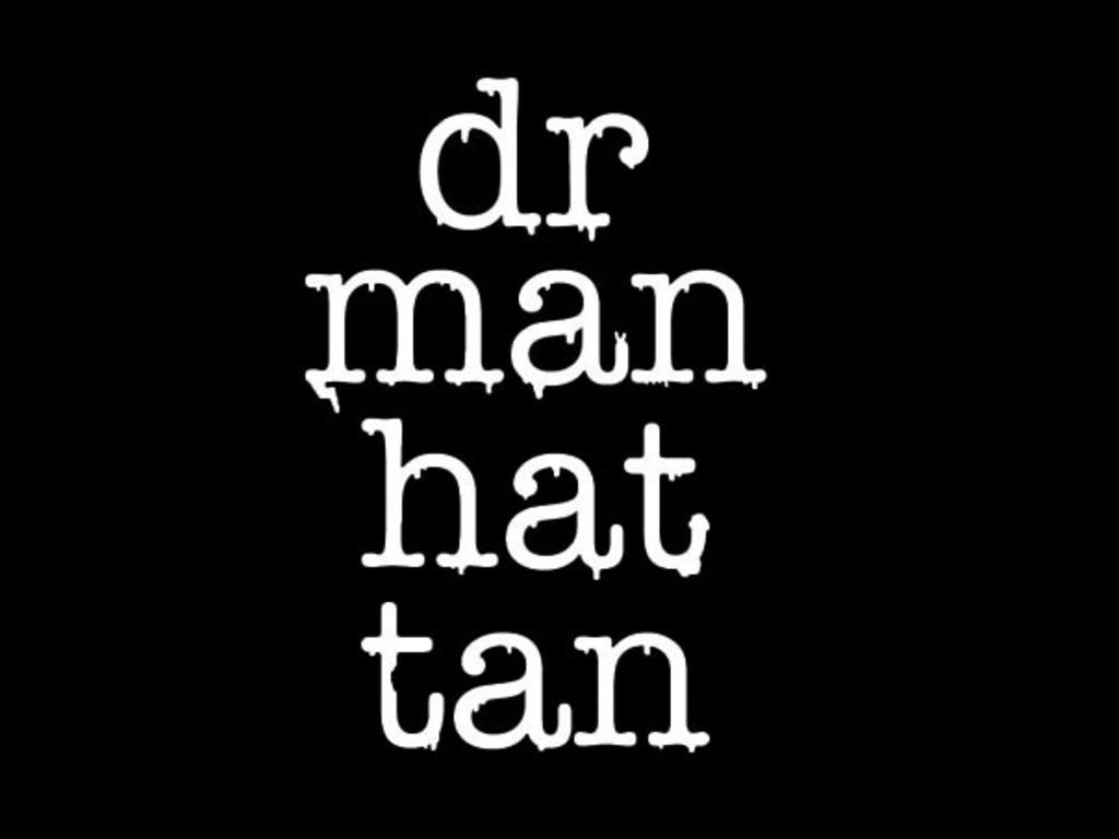 Dr. Manhattan goes vinyl's video poster