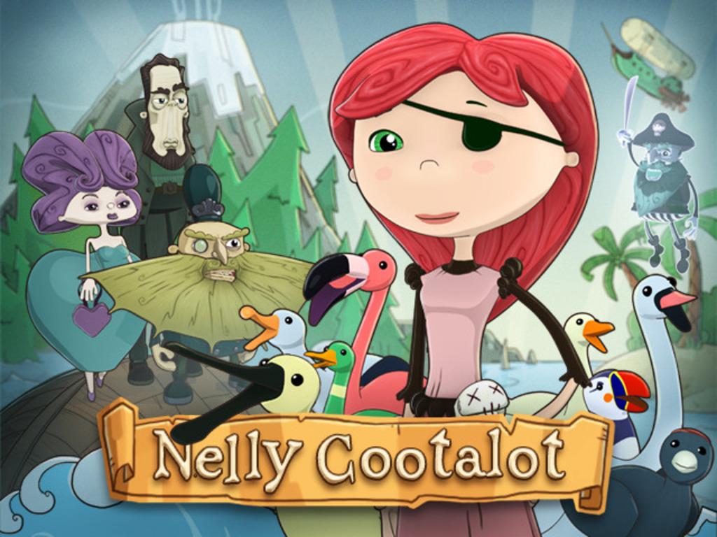 Nelly Cootalot: The Fowl Fleet! (Retro Pirate Adventure)'s video poster