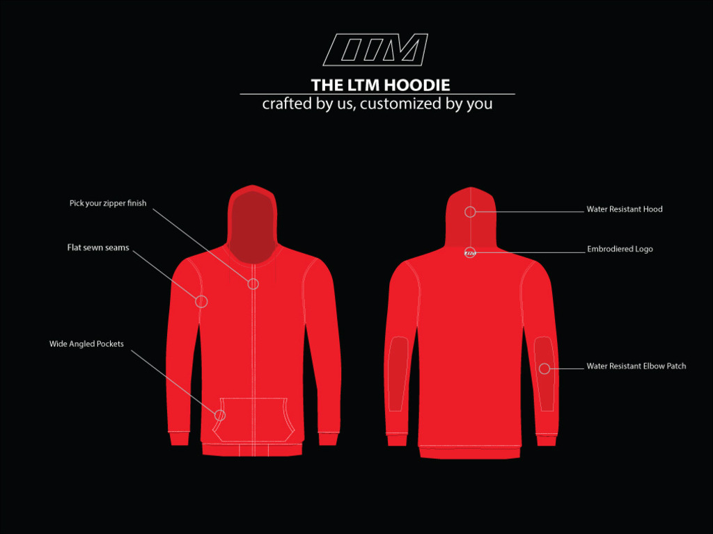 THE LTM HOODIE: crafted by us, customized by you's video poster