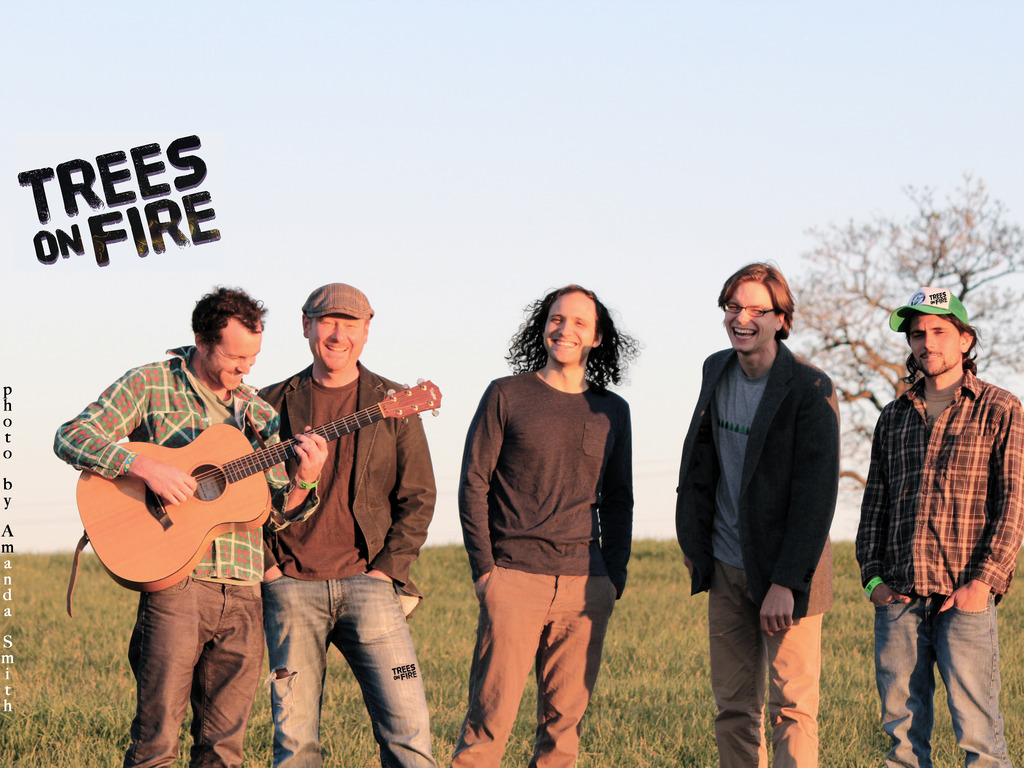 Get involved with the making of Trees on Fire's new album!'s video poster