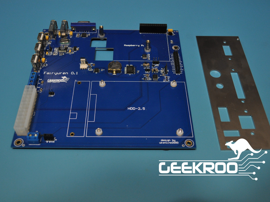 Mini-ITX Motherboard for the Raspberry Pi - Fairywren's video poster