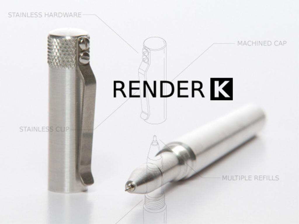 RENDER K- A Custom Machined Pen's video poster