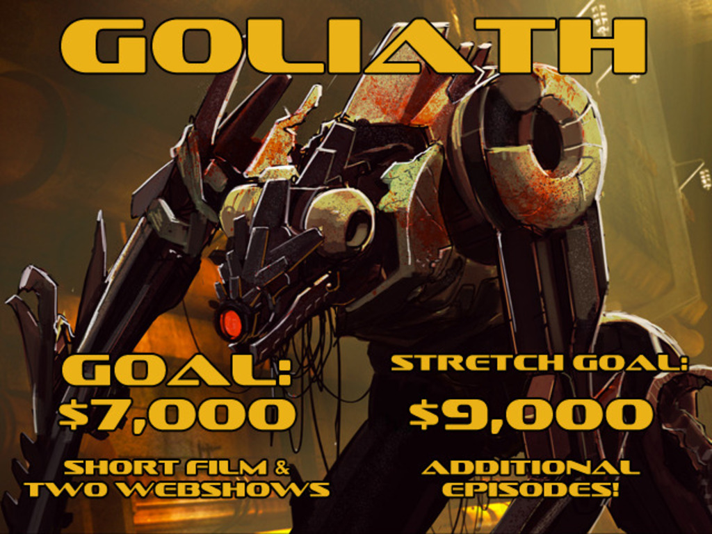 GOLIATH - A Robot Prison Sci-Fi Thriller's video poster