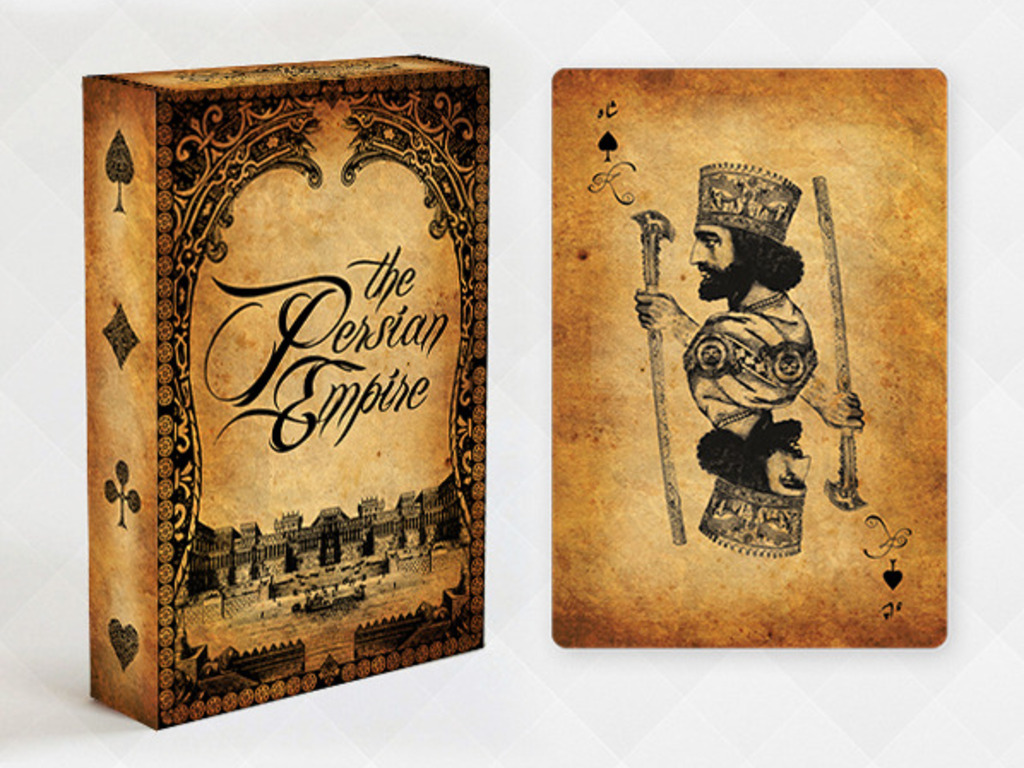 THE PERSIAN EMPIRE playing card deck (Canceled)'s video poster