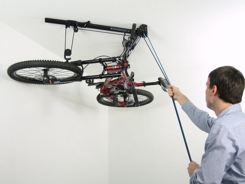 Floaterhoist - Horizontal Bike Storage Hoist's video poster