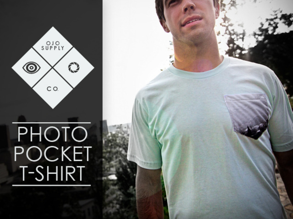 Photo Pocket T-Shirts by Ojo Supply Co.'s video poster