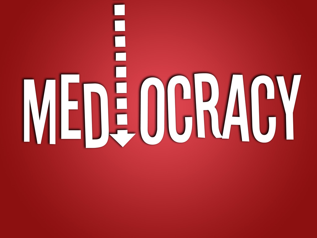 Mediocracy: The Pilot's video poster