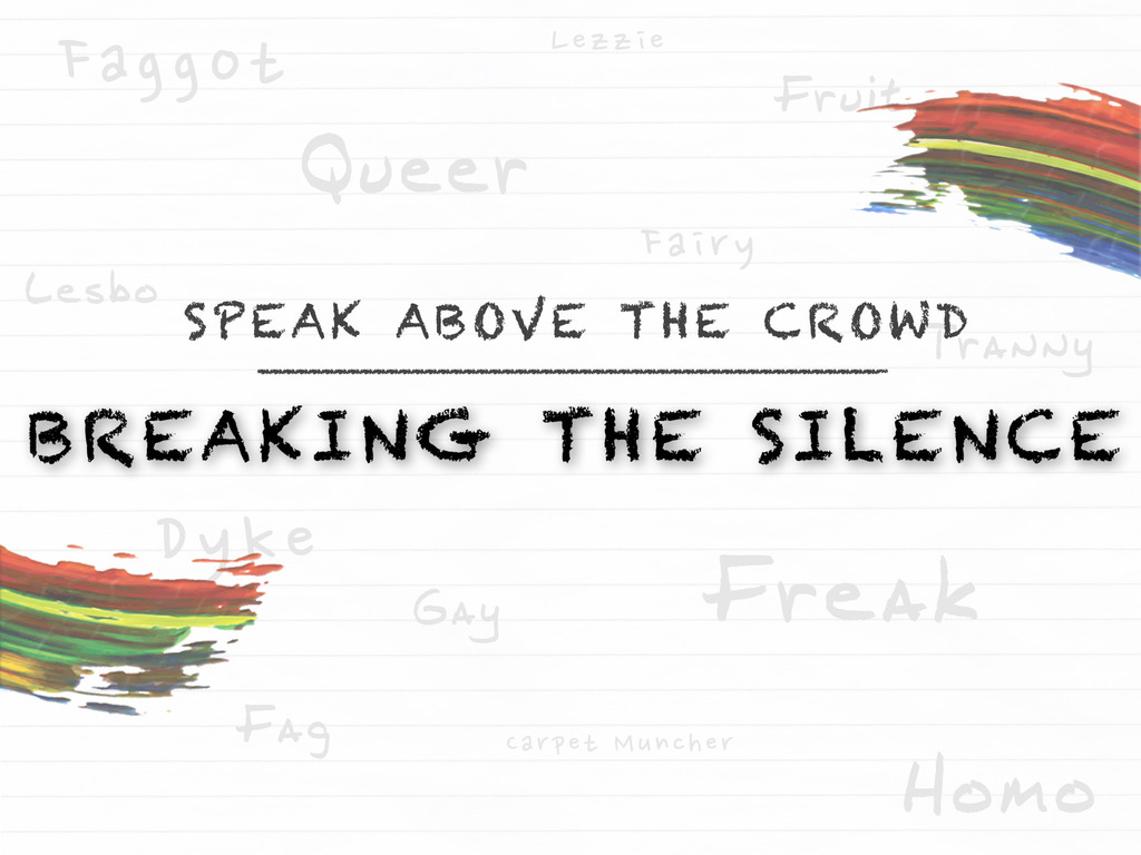 Breaking the Silence's video poster