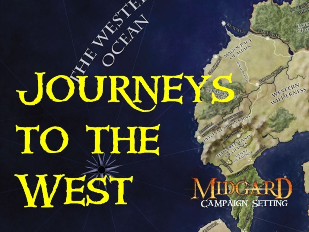 Journeys to the West: A Pathfinder RPG Voyage's video poster
