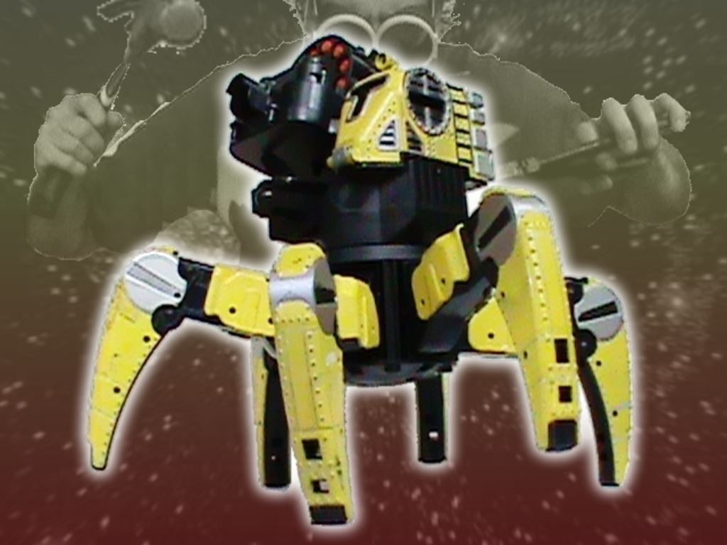 The Greatest Toy KIT in the Universe!  Spider Tank Mark 6's video poster