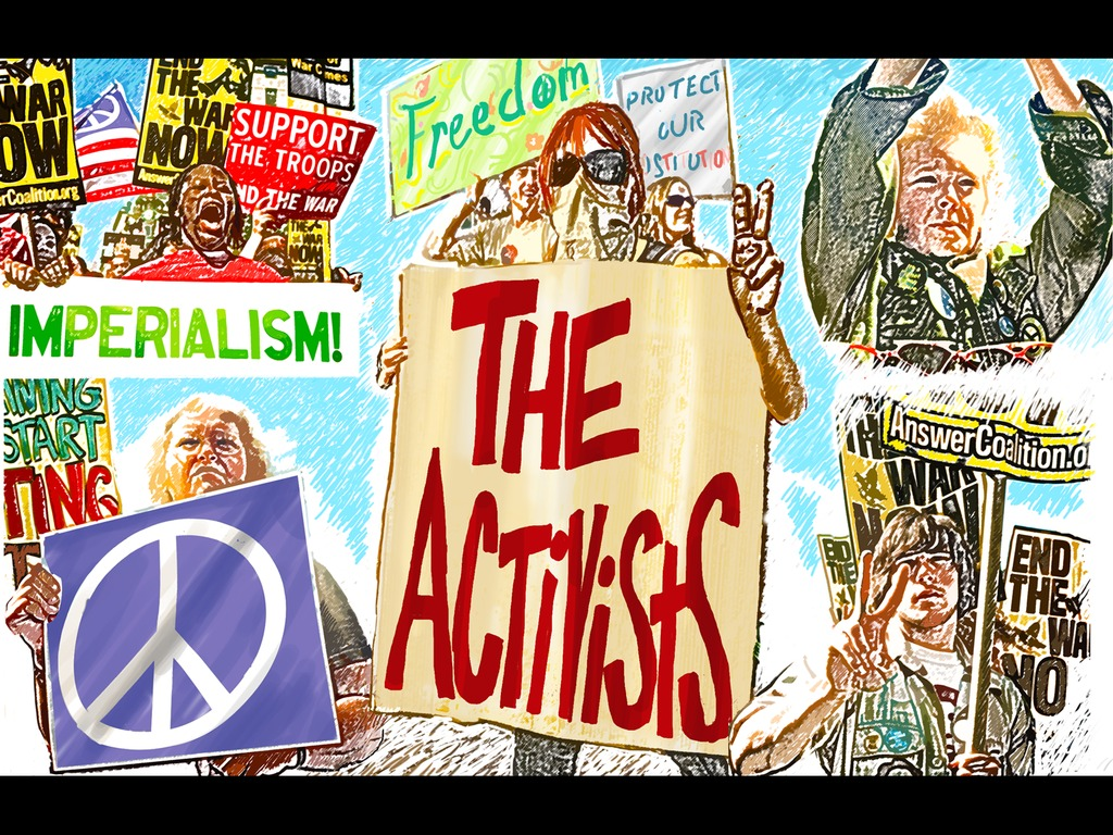 THE ACTIVISTS: War, Peace, and Politics in the Streets's video poster