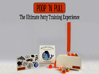 Poop 'n Pull.  The Ultimate Potty Training Experience.
