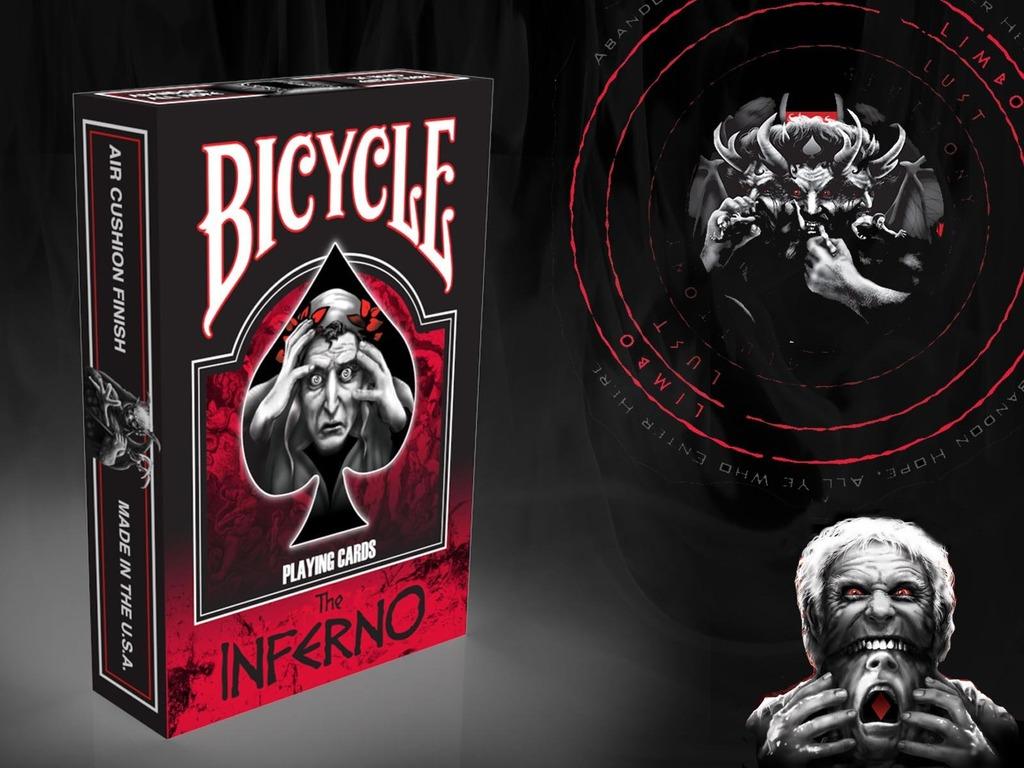 DANTE'S INFERNO BICYCLE® PLAYING CARD DECK (Dante Alighieri)'s video poster