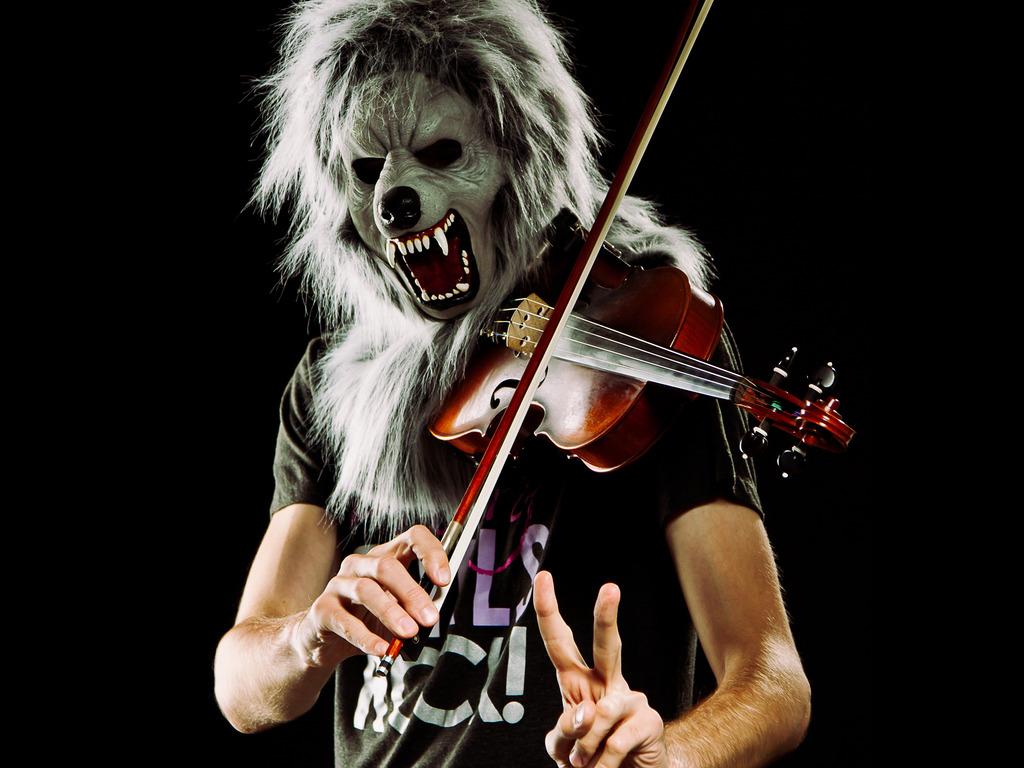 Violin Monster... Monsterizing America!'s video poster