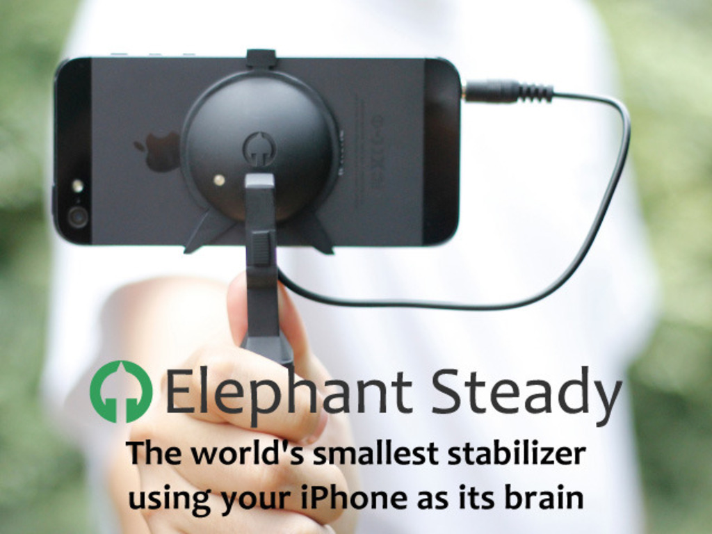 Elephant Steady - Smallest stabilizer ever for iPhone!'s video poster