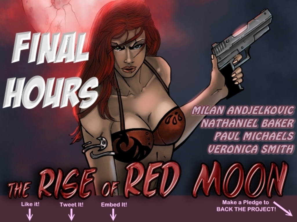 The Rise of Red Moon Comic Book's video poster