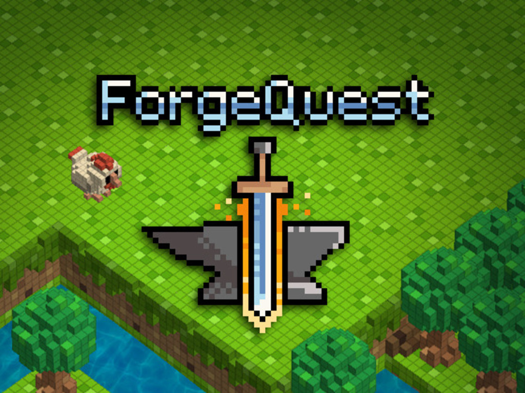 Forge Quest - A Sandbox Action RPG's video poster