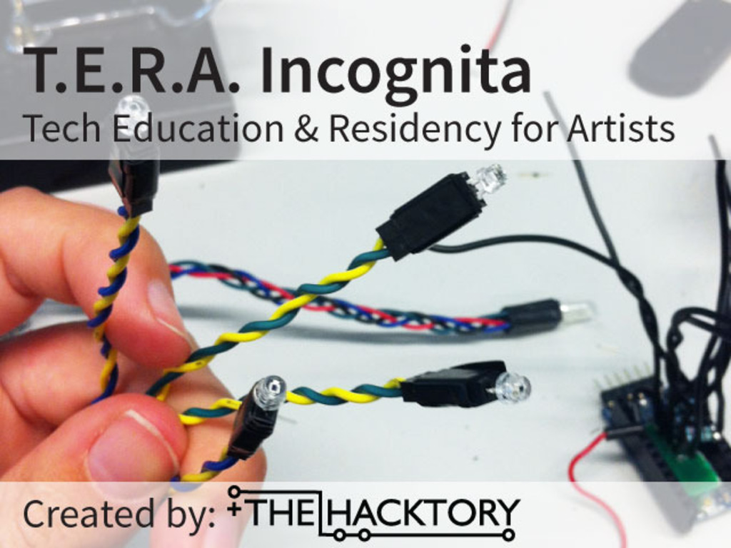 T.E.R.A. Incognita: Tech Education & Residency for Artists's video poster