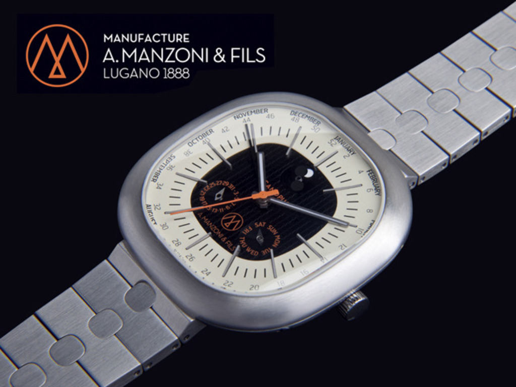A.Manzoni & Fils launch of the Canopus Weekplanner Watch's video poster