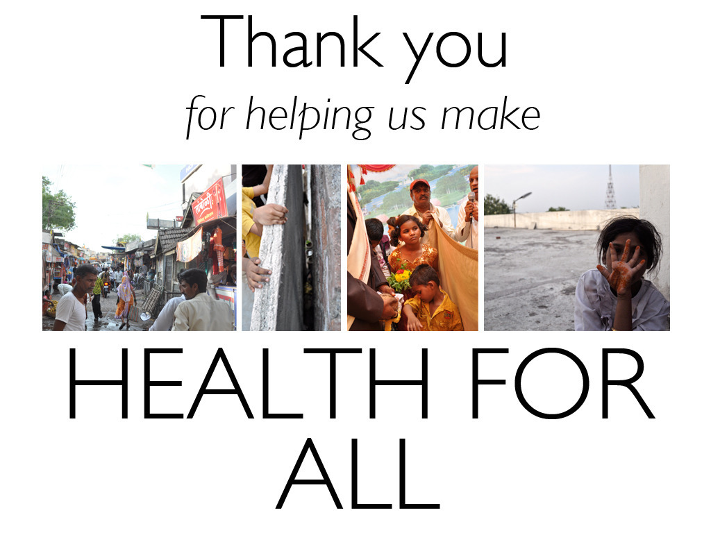 HEALTH FOR ALL: A film on health care alternatives in India's video poster
