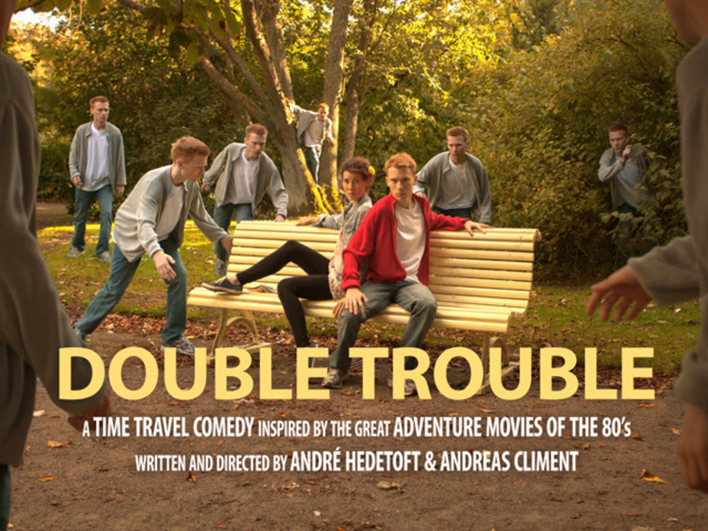 DOUBLE TROUBLE - A Time Travel Comedy's video poster