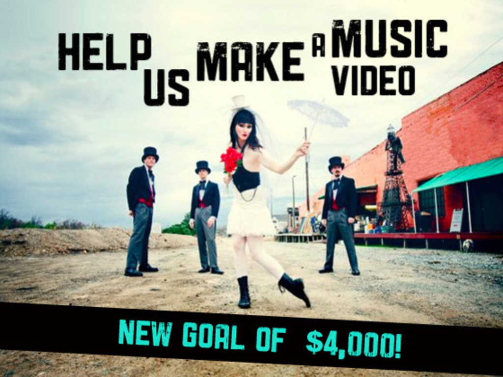 Help us make a music video!'s video poster