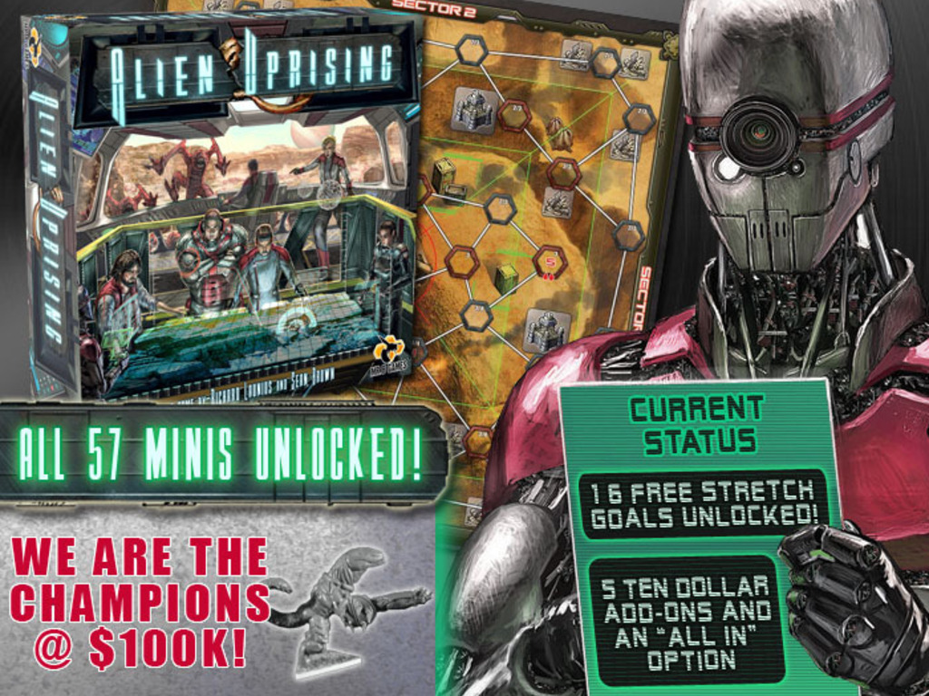 Alien Uprising's video poster