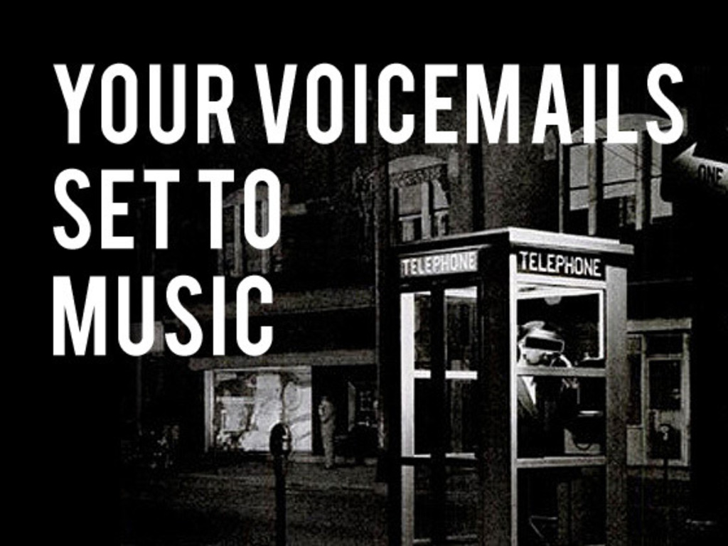 The Listener: An Album of Your Voicemails Set To Music's video poster