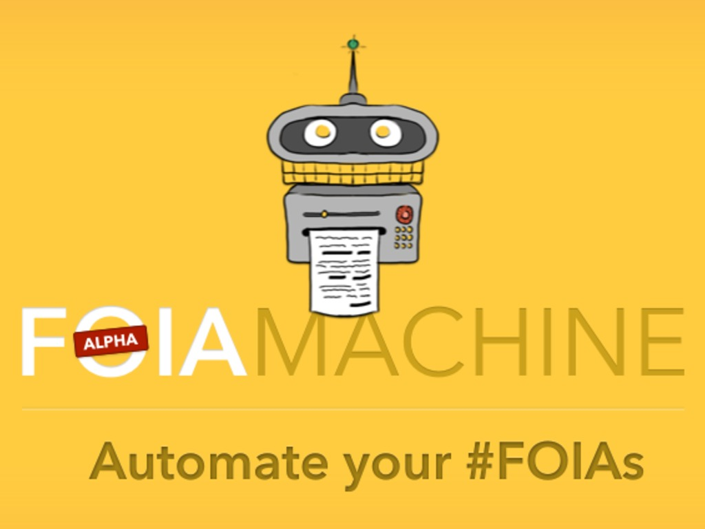 FOIA Machine's video poster