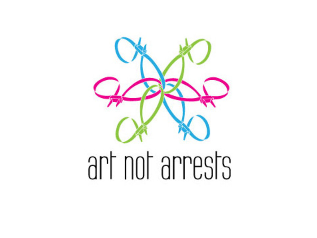 'ART NOT ARRESTS' Garden Installation's video poster