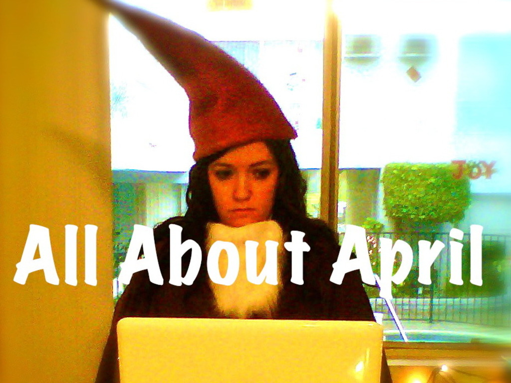 All About April's video poster