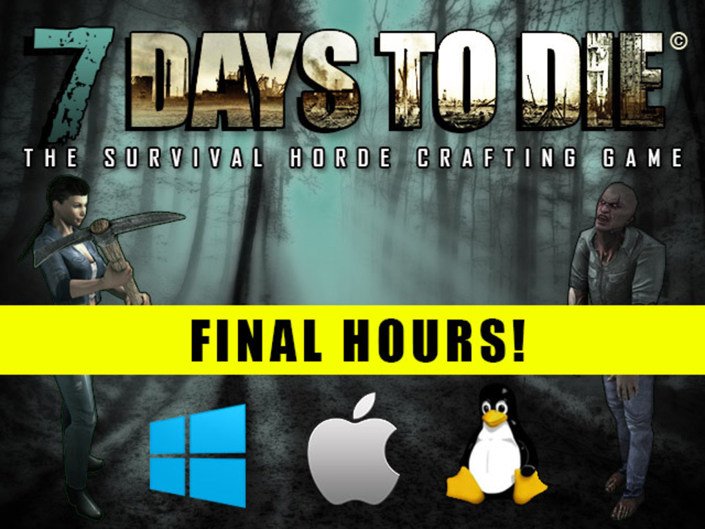 7 Days to Die  - Zombie Survival Game's video poster